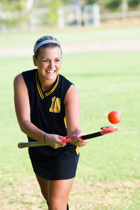 National mandate for protective eyewear linked to reduced injuries in girls' high school field hockey.