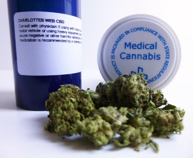 Patients in the study used both inhaled marijuana and edible marijuana.