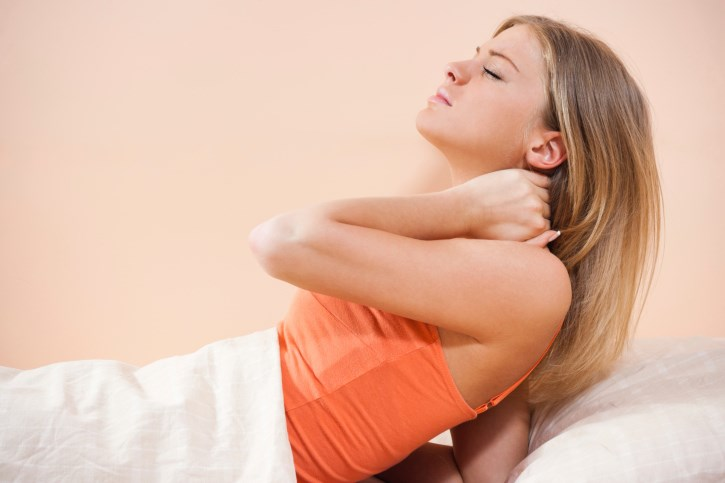 Women have been found 1.38 times more likely than men to report neck pain due to cervical degenerative disc disease.