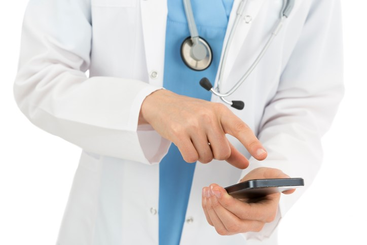 Before the smartphone, doctors actually had to know things.
