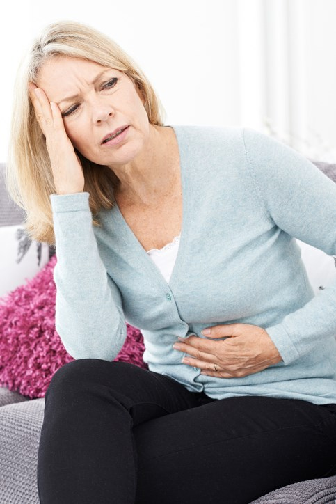 The gut-brain axis plays a role in IBS-related visceral pain.