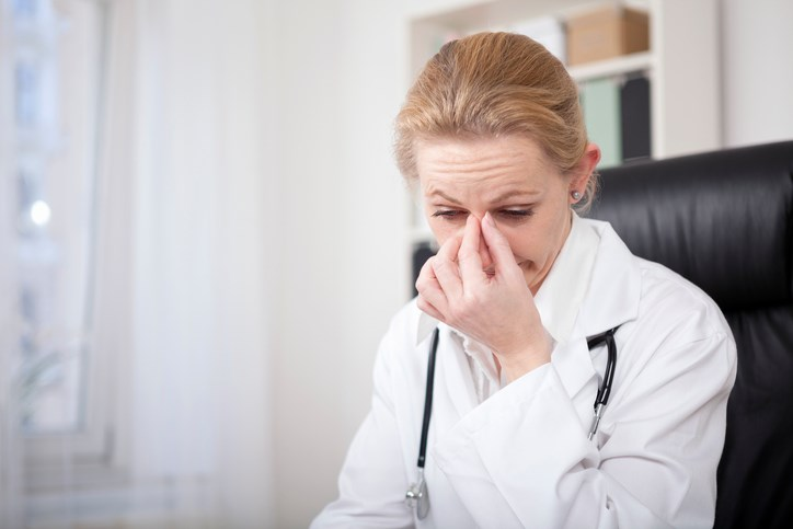 Reasons Why Many Physicians With Influenza-Like Symptoms Continue to Work