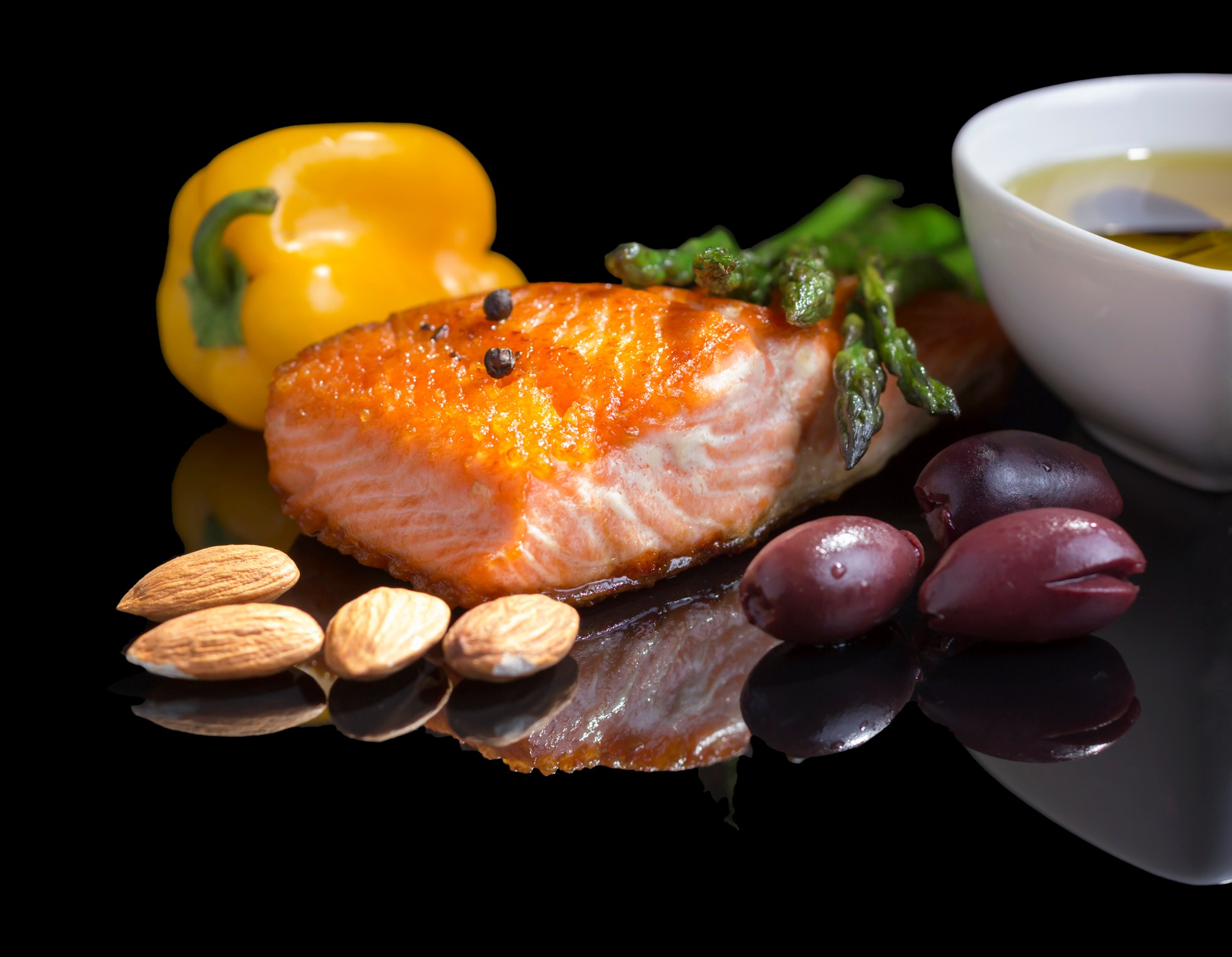 Anti-inflammatory Foods Mediate Link Between Body Fat and Pain