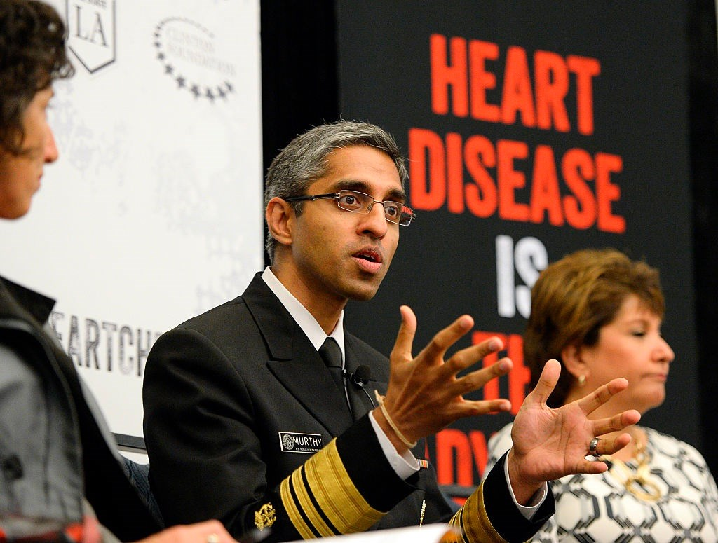 """""""Dr Murthy helped steer our country through the frightening Ebola and Zika outbreaks, and rightfully focused on the devastation of addiction."""""""