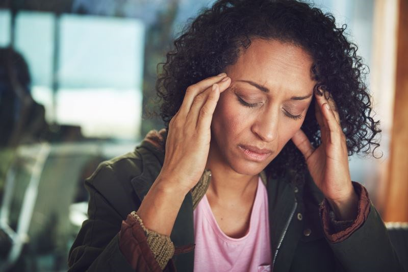 Stress Negatively Affects Acute Treatment for Chronic Migraine