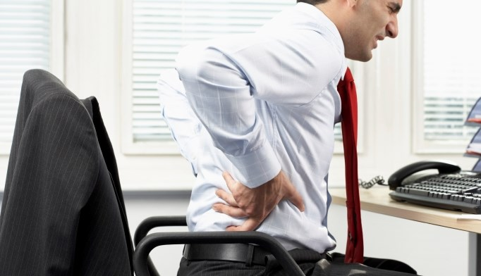 Correcting posture can help alleviate back pain.