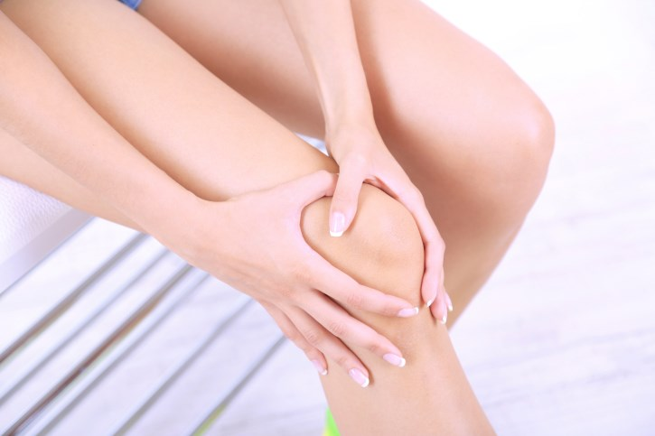 Almost 90% of those in the study had undergone knee replacement as a result of debilitating osteoarthritis