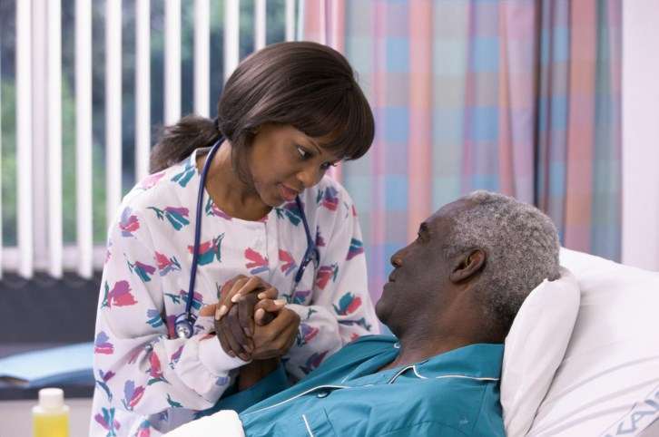 The research included terminally ill cancer patients with a number of comorbidities.
