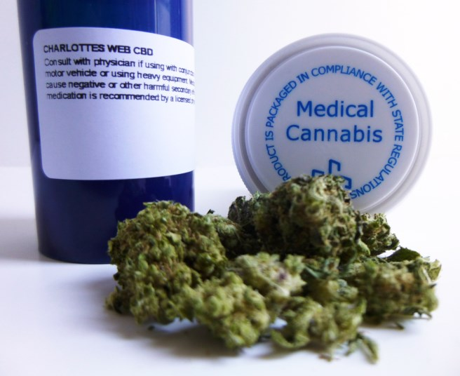 Patients in the study used both inhaled marijuana and edible marijuana.