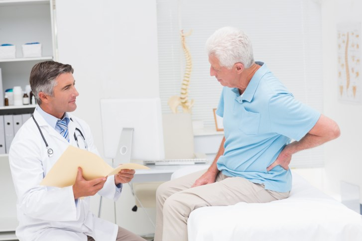 AA is a 78-year-old male patient who has spinal stenosis with localized pain to the lumbar spine.