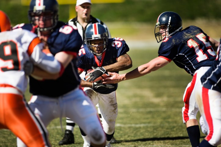 High school football players wearing loose helmets experience worse concussion effects than players whose helmets fit properly.