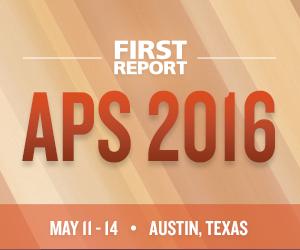 APS 2016 logo.