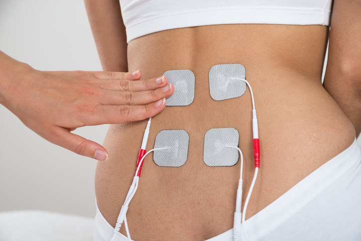 Investigators evaluated 12 randomized controlled trials examining patients with low back pain undergoing transcutaneous electrical nerve stimulation.