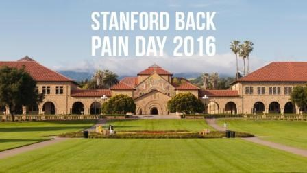 Stanford's Back Pain Day provides tools that patients can use at home.