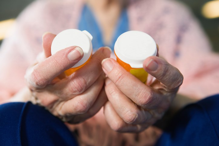 About 15% of older adults use high-risk methods for obtaining prescription opioids.