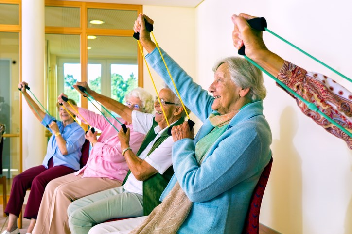 Chair Yoga Helps Manage Osteoarthritis Pain