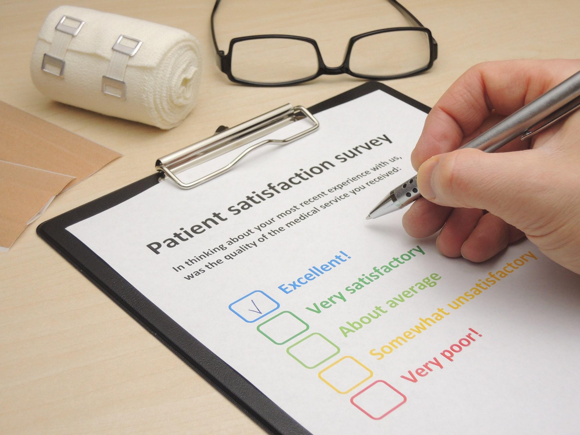 Online Physician Reviews Don't Reflect Patient Satisfaction Surveys