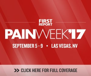PAINWeek 2017 will be held September 5-9, 2017, in Las Vegas, Nevada.