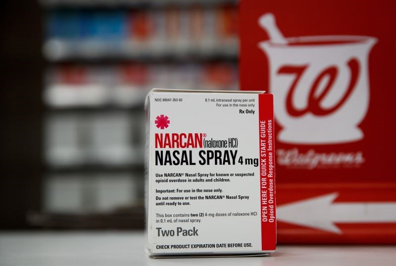 Pharmacists at Walgreens will also be tasked with educating patients about Narcan.