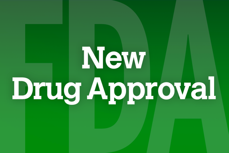 FDA approval was supported by data from the GOLDEN 3, 4, and 5 clinical trials.