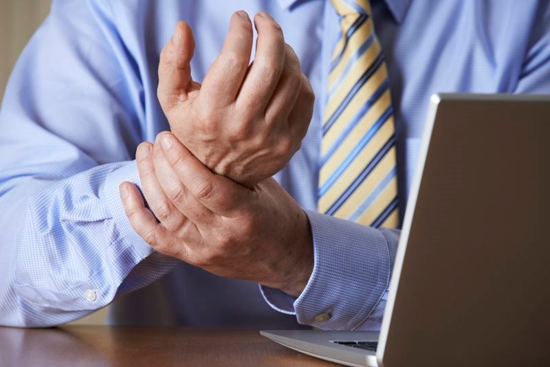 Twelve percent of those with a work-related musculoskeletal disorder required a leave of absence, practice restriction or modification, or early retirement.