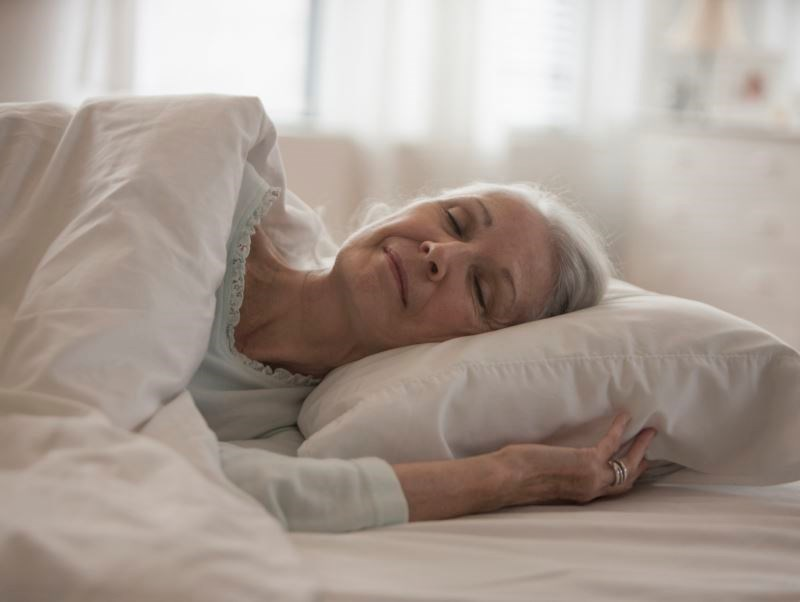 Pain Treatment in Nursing Home Residents May Improve Sleep