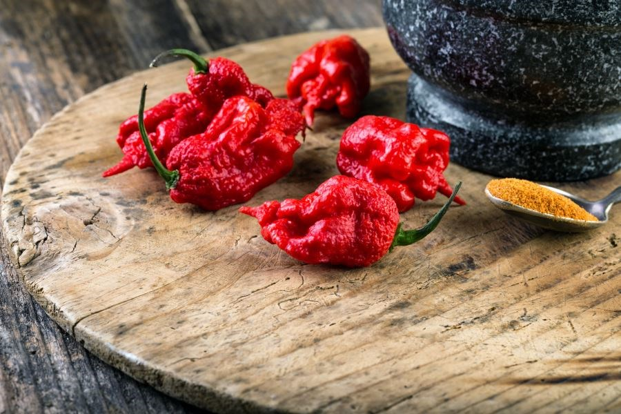 The 'Carolina Reaper' has been dubbed the hottest chili pepper in the world