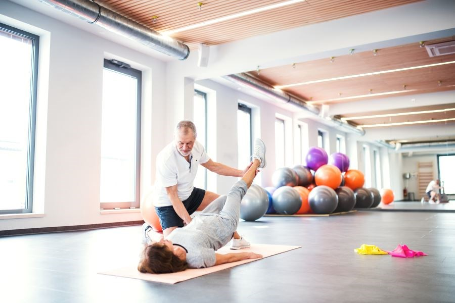 A group of postmenopausal women with lateral hip pain were assigned to follow the Gluteal La Trobe University exercise program or a sham exercise for 12 weeks.