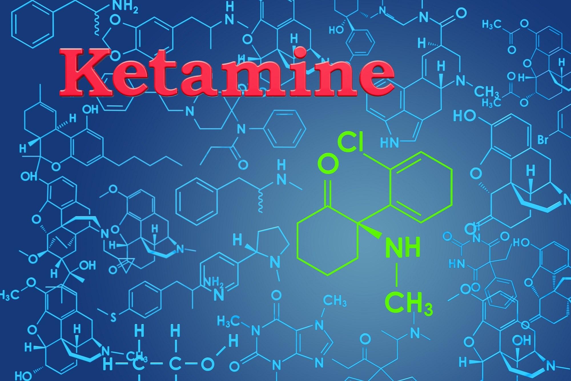 Ketamine is lipophilic, allowing it to cross the blood-brain barrier.