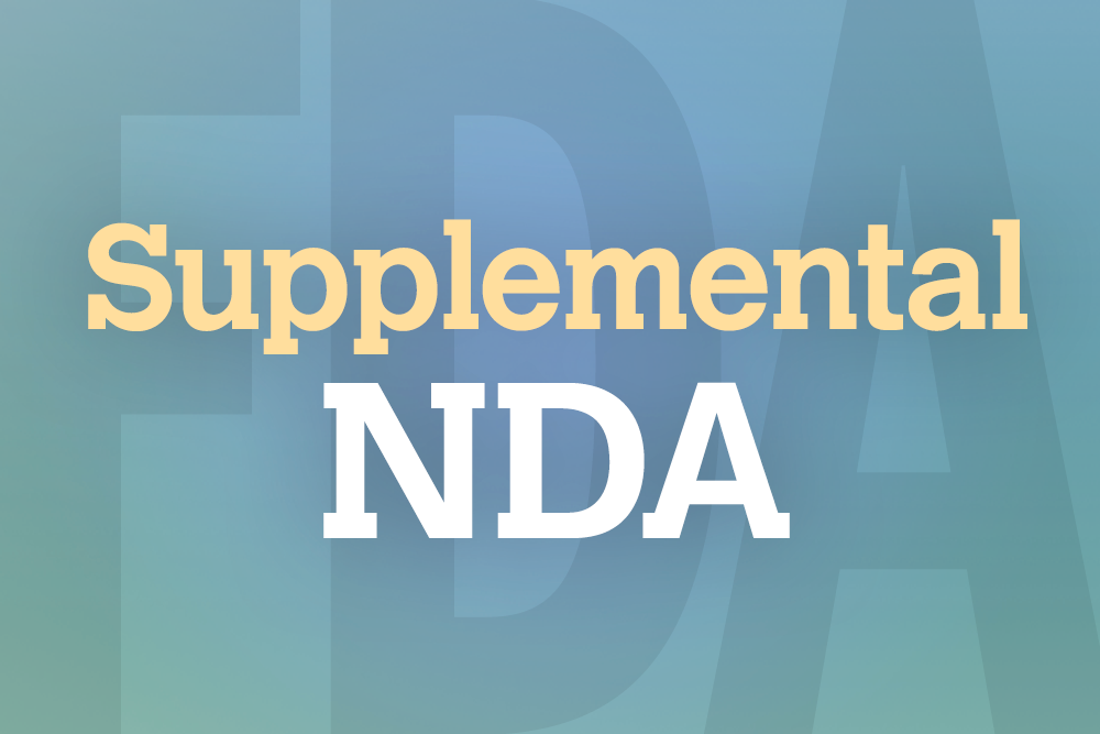 The sNDA is based on combined data from the Phase 3 MAGELLAN and MARINER trials.