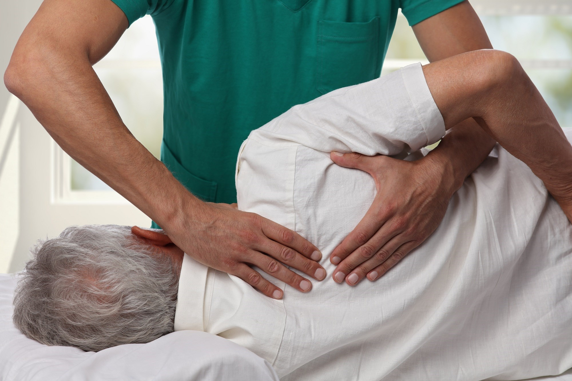 Manual Therapy vs Opioids for Management of Shoulder, Spine Pain